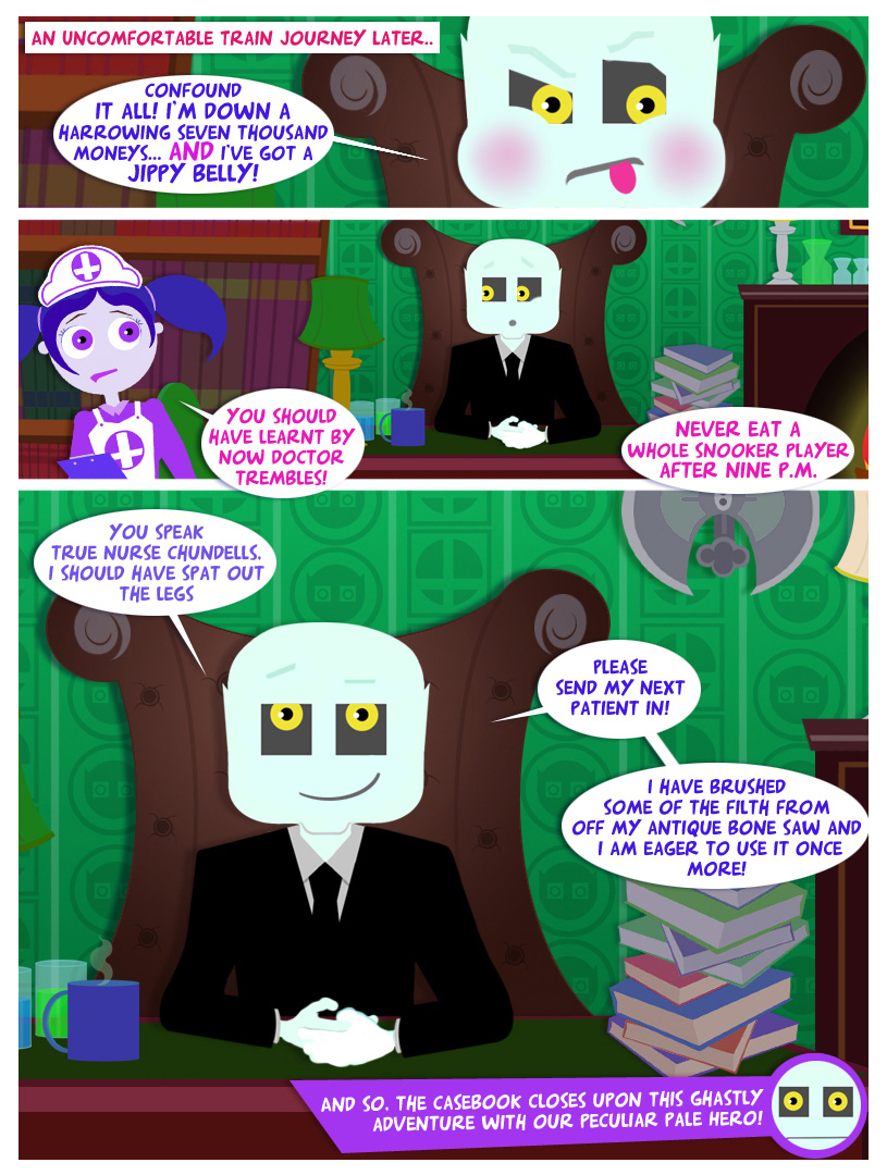 Doctor Trembles - Issue 1 - 22